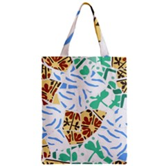 Broken Tile Texture Background Classic Tote Bag