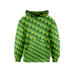 Dragon Scale Scales Pattern Kids  Pullover Hoodie