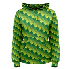 Dragon Scale Scales Pattern Women s Pullover Hoodie