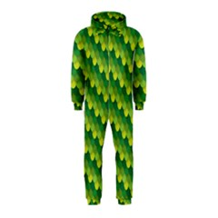 Dragon Scale Scales Pattern Hooded Jumpsuit (kids)
