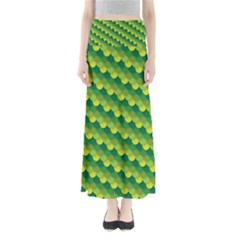 Dragon Scale Scales Pattern Maxi Skirts