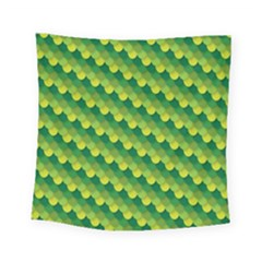 Dragon Scale Scales Pattern Square Tapestry (small)
