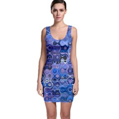 Background Texture Pattern Colorful Sleeveless Bodycon Dress