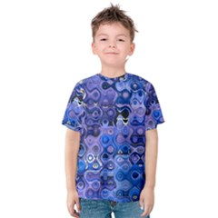 Background Texture Pattern Colorful Kids  Cotton Tee