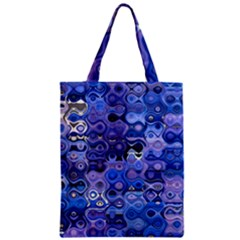 Background Texture Pattern Colorful Zipper Classic Tote Bag