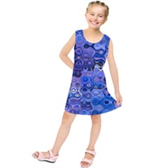 Background Texture Pattern Colorful Kids  Tunic Dress