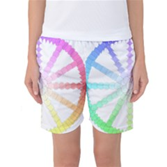 Polygon Evolution Wheel Geometry Women s Basketball Shorts