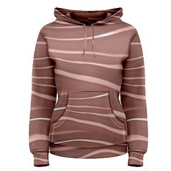 Lines Swinging Texture Background Women s Pullover Hoodie