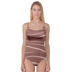 Lines Swinging Texture Background Camisole Leotard