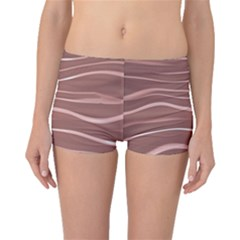 Lines Swinging Texture Background Boyleg Bikini Bottoms