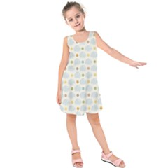 Baby Cloudy Star Cloud Rainbow Blue Sky Kids  Sleeveless Dress