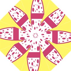 Easter Egg Shapes Large Wave Pink Yellow Circle Dalmation Straight Umbrellas