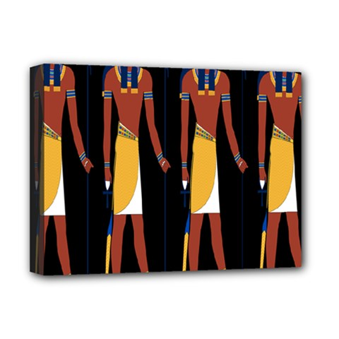 Egyptian Mummy Guard Treasure Monster Deluxe Canvas 16  x 12