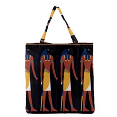 Egyptian Mummy Guard Treasure Monster Grocery Tote Bag