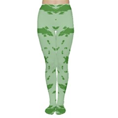 Green Hole Women s Tights