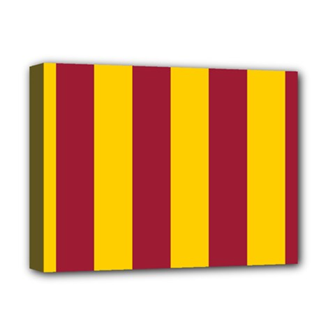 Red Yellow Flag Deluxe Canvas 16  X 12