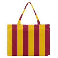 Red Yellow Flag Medium Zipper Tote Bag