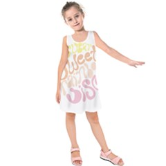 Sugar Sweet Rainbow Kids  Sleeveless Dress