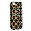 Seamless Floral Flower Star Red Black Grey Apple iPhone 4/4S Hardshell Case View2