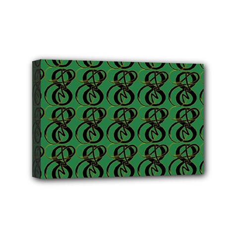 Abstract Pattern Graphic Lines Mini Canvas 6  X 4