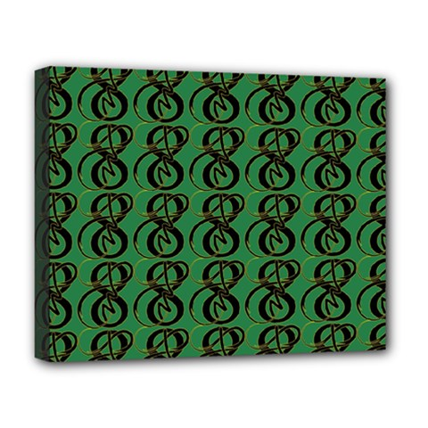 Abstract Pattern Graphic Lines Deluxe Canvas 20  X 16