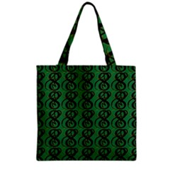 Abstract Pattern Graphic Lines Grocery Tote Bag