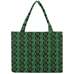 Abstract Pattern Graphic Lines Mini Tote Bag
