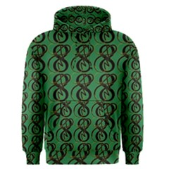 Abstract Pattern Graphic Lines Men s Pullover Hoodie