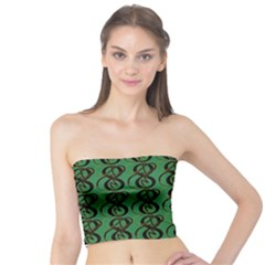 Abstract Pattern Graphic Lines Tube Top