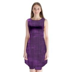 Background Wallpaper Paint Lines Sleeveless Chiffon Dress