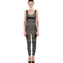 Line Geometry Pattern Geometric Onepiece Catsuit