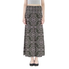 Line Geometry Pattern Geometric Maxi Skirts