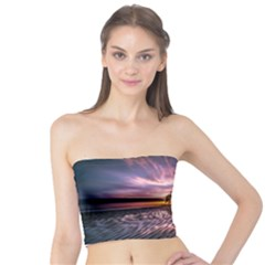 Landscape Reflection Waves Ripples Tube Top