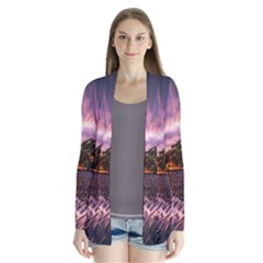 Landscape Reflection Waves Ripples Cardigans