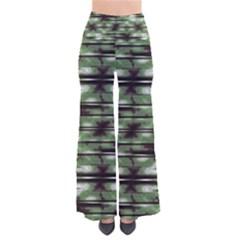 Stripes Camo Pattern Print Pants