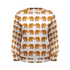 Indian elephant  Women s Sweatshirt