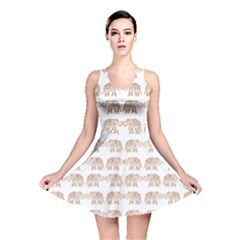 Indian elephant Reversible Skater Dress
