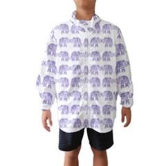 Indian elephant pattern Wind Breaker (Kids)
