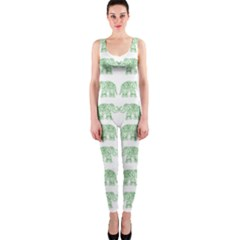 Indian elephant pattern OnePiece Catsuit