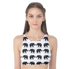 Indian elephant pattern Tank Bikini Top