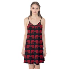 Indian elephant pattern Camis Nightgown