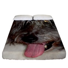 Old English Sheepdog Fitted Sheet (California King Size)