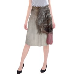 Old English Sheepdog Midi Beach Skirt