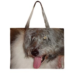 Old English Sheepdog Large Tote Bag