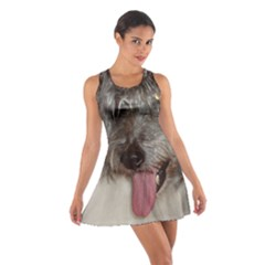 Old English Sheepdog Cotton Racerback Dress