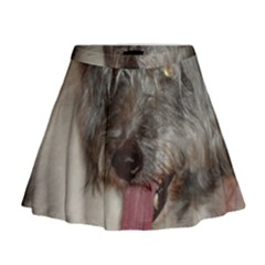 Old English Sheepdog Mini Flare Skirt