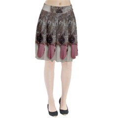 Old English Sheepdog Pleated Skirt