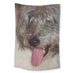 Old English Sheepdog Large Tapestry
