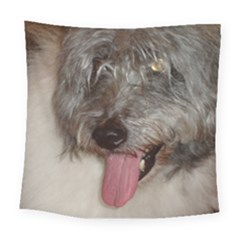Old English Sheepdog Square Tapestry (Large)