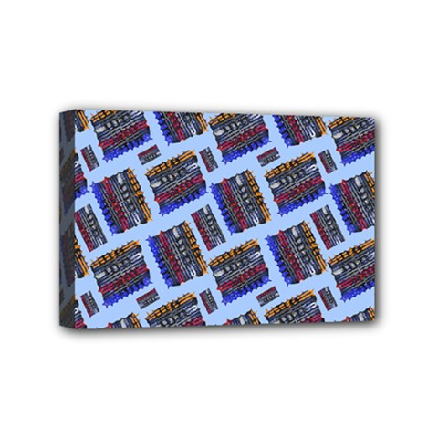 Abstract Pattern Seamless Artwork Mini Canvas 6  X 4